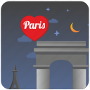center, culture, love, night, paris, romantic icon
