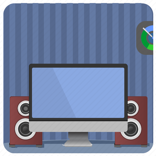 acoustics, home, mac, monitor, pc, screen icon