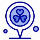 flower, heart, location, pin icon