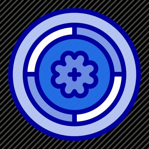 circle, flower, spring, sunflower icon