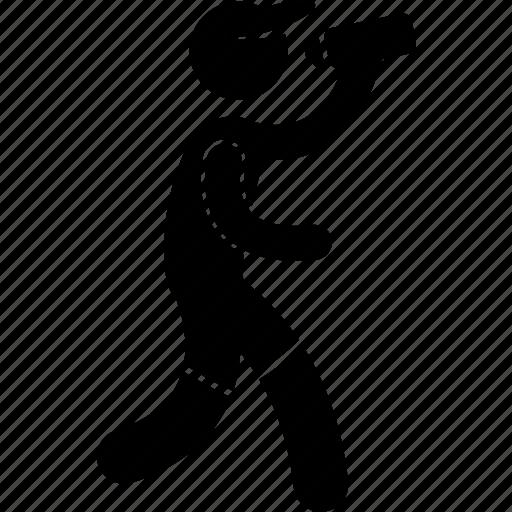 drinking, iron, man, marathon, race, runner, water icon