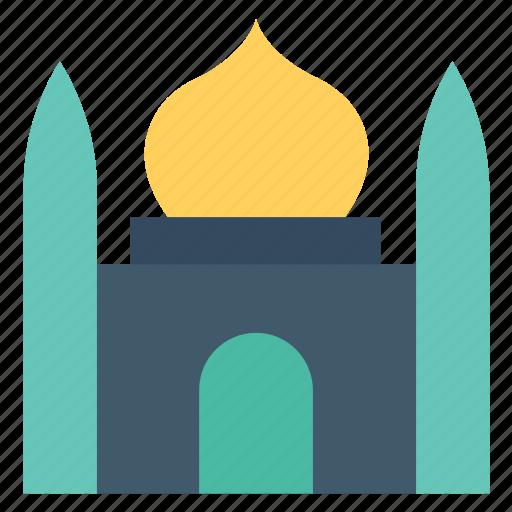 house of god, house of worship, masjid, mosque, muslim pray icon