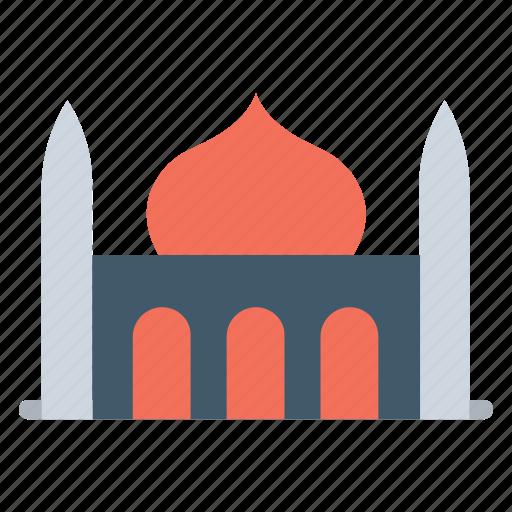 house of god, islamic building, masjid, mausoleum and minarets, mosque icon