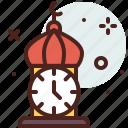 belief, clock, cultures, muslim, ramadan, religion icon