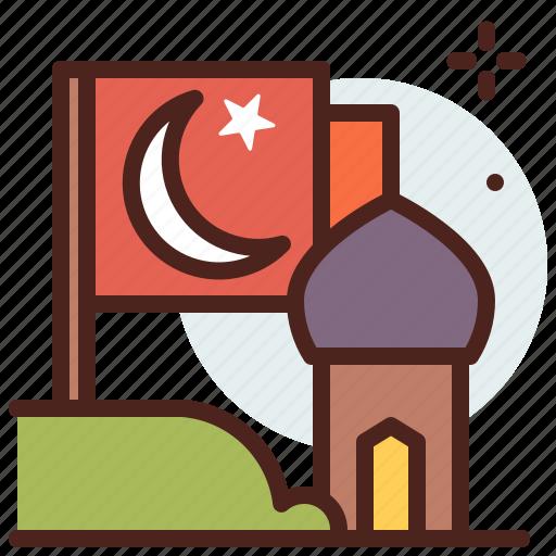 belief, cultures, flag, muslim, ramadan, religion icon