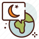 belief, cultures, islamization, muslim, ramadan, religion icon