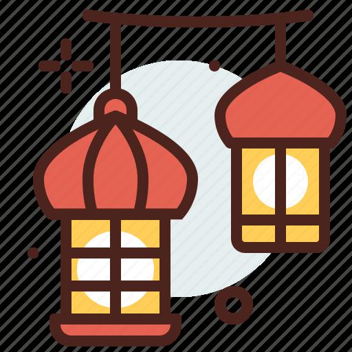 belief, cultures, lights, muslim, ramadan, religion icon