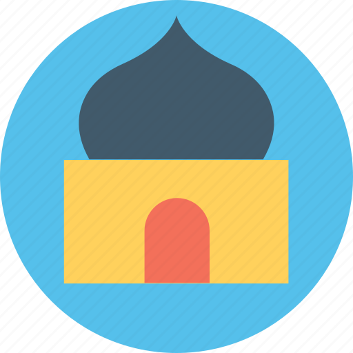 house of god, house of worship, masjid, monument, mosque icon