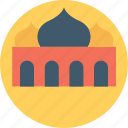 arabic architecture, house of god, islamic building, masjid, mosque icon