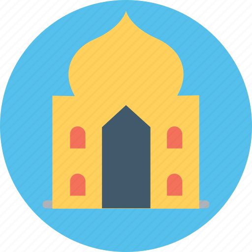 historical building, house of god, islamic building, masjid, mosque icon
