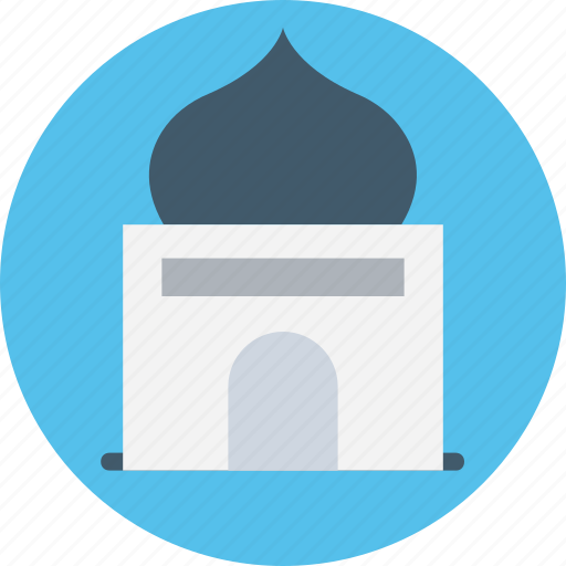dome building, house of god, islamic building, masjid, mosque icon