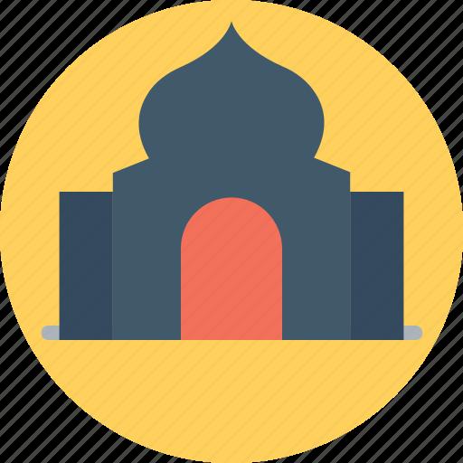 house of worship, islamic building, masjid, mausoleum, mosque icon