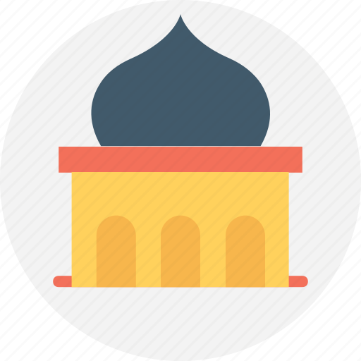 house of god, house of worship, masjid, mosque, tomb icon