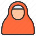 woman, girl, female, fashion, hijab, people, avatar