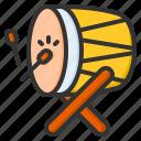 drum, traditional, culture, festival, bedug