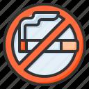 no smoking, stop, smoke, ban, block, fasting, not allowed