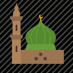 islamic, masjid, medina, mosque, prayer, prophet, ramadan icon