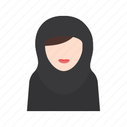 islam, mosque, muslim, people, pray, praying, woman icon