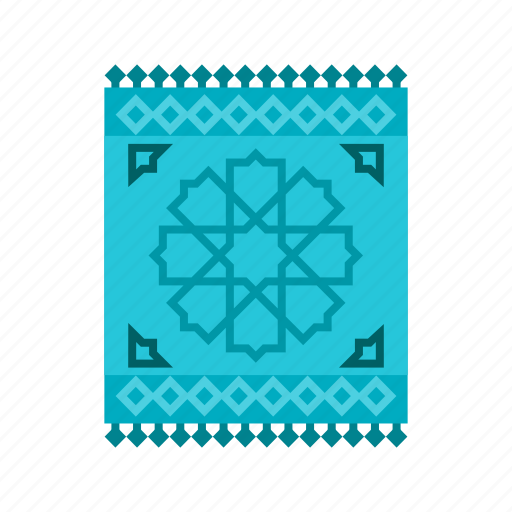 carpet, islam, mat, mosque, muslim, prayer, rug icon