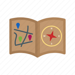 books, direction, education, globe, history, old, sketch icon