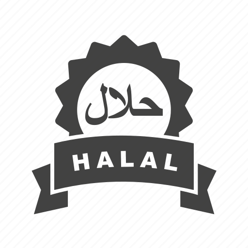 food, halal, islamic, marketing, muslim, products, sticker icon