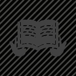 book, holy, islamic, muslim, prayer, quran, read icon