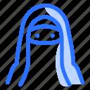 arabic, islam, islamic, muslim, niqab, ramadan, woman icon