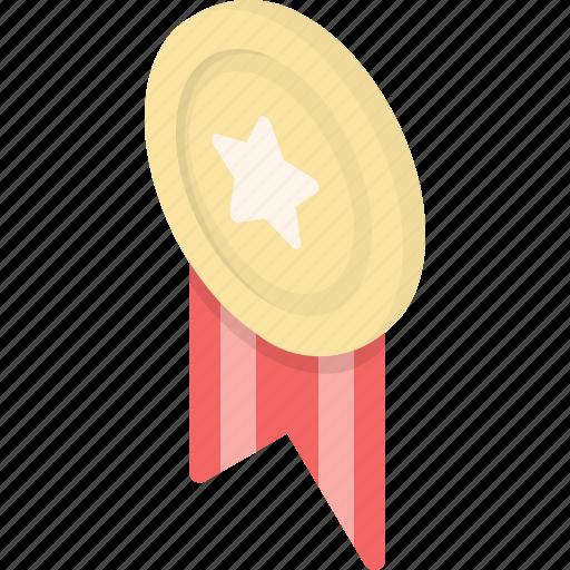 achievement, award, medal, reward, star, success, trophy icon