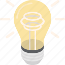 bulb, creative, electricity, idea, innovation, light, lightbulb icon