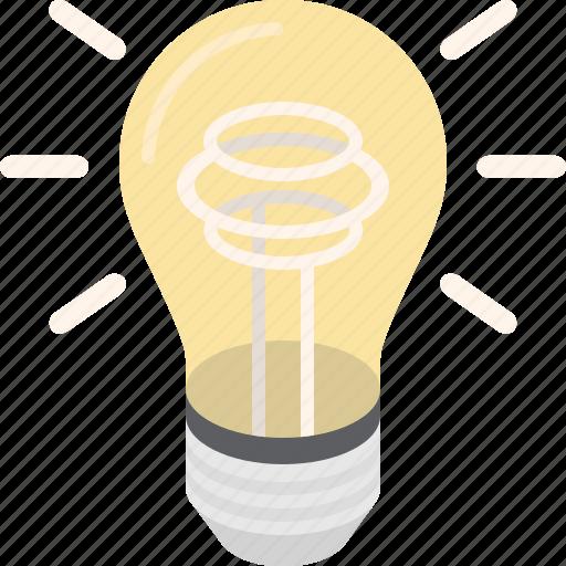bulb, creative, electricity, idea, innovation, light, lightbulb icon