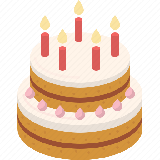 Magnificent Bakery Birthday Cake Cream Dessert Party Sweet Icon Funny Birthday Cards Online Fluifree Goldxyz