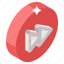 audio player, fast player, media button, media player, video player icon