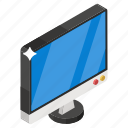 computer, desktop, home computer, lcd, pc screen, screen icon
