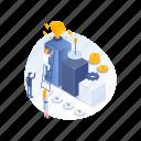 achievement, cup, mission, success icon