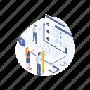 testing, online, exam, test, education icon