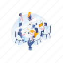 team, people, teamwork, business icon