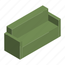 armchair, couch, furniture, interior, seat, settee, sofa icon