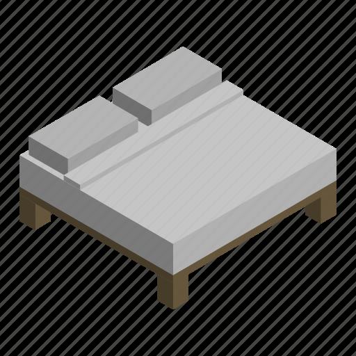 bed, double, interior, king, mattress, queen, sleep icon