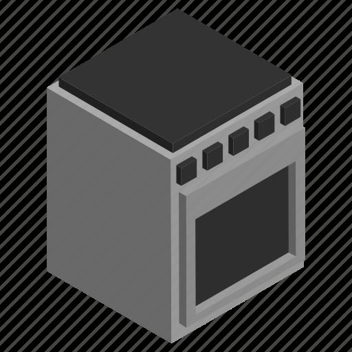 appliance, cooker, furniture, interior, kitchen, oven, stove icon