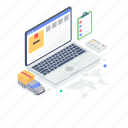 cargo business, delivery services, logistic services, online cargo services, shipment icon