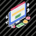 internet marketing, money making, online money, pay per click, ppc, search engine optimization, seo marketing icon