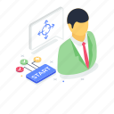 business decision, business planning, business solution, decision making, problem solving icon