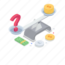 balance scale, business balance, business scale, ethics compliance, weighing scale icon