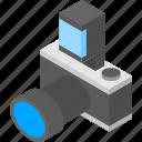 camera, isometry, photo, photography icon