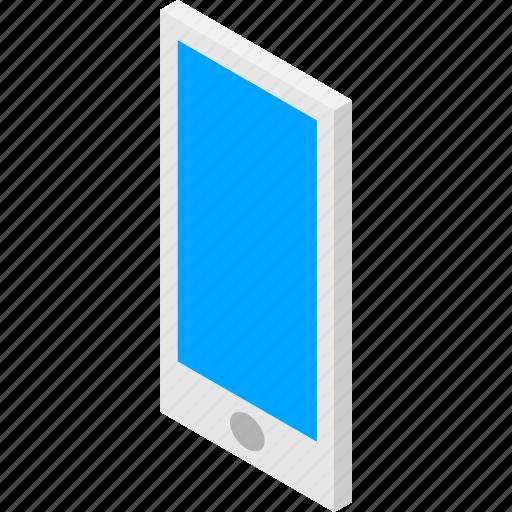 isometric, isometry, mobile, phone, smartphone, telephone icon