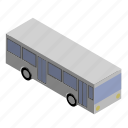 bus, engine, public, transport, transportation, vehicle icon