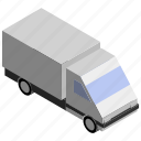 cargo, lorry, transport, truck, van, vehicle icon
