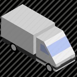 cargo, lorry, transport, truck, van, vehicle icon