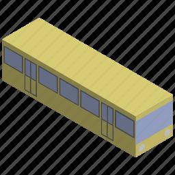 electric, rails, train, vehicle, wagon icon