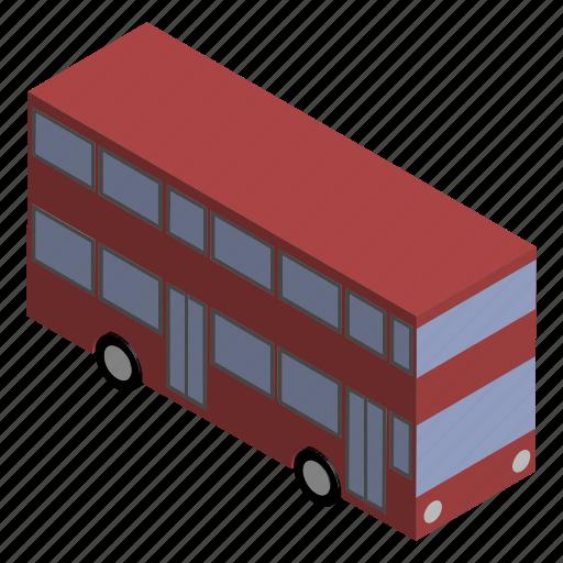 british, bus, decker, double, english, uk, vehicle icon